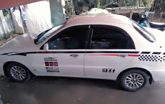 Bán ô tô Daewoo Lanos 2005, màu trắng, xe nhập0