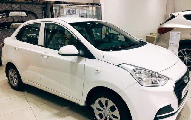 Bán Hyundai Grand i10 đời 2019, màu trắng 0