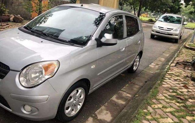 Cần bán Kia Morning đời 2008, màu bạc, nhập khẩu, xe chạy tốt0