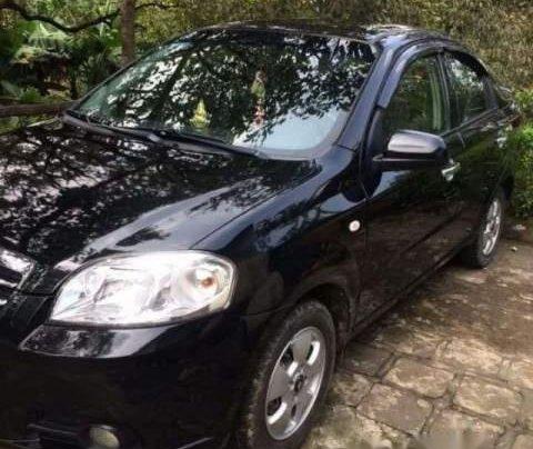 Cần bán Daewoo Gentra đời 2011, màu đen, nhập khẩu nguyên chiếc, xe chạy gia đình nên giữ cẩn thận1