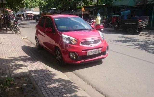 Gia đình bán gấp xe Kia Morning màu đỏ, biển SG, đời 2015, số tự động3
