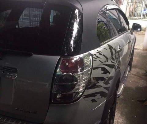 Cần bán lại xe Chevrolet Captiva sản xuất 2007, màu bạc, xe zin nguyên rất đẹp4