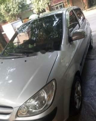 Bán ô tô Hyundai Getz 2008, màu bạc, chỉ đổ xăng mà đi5