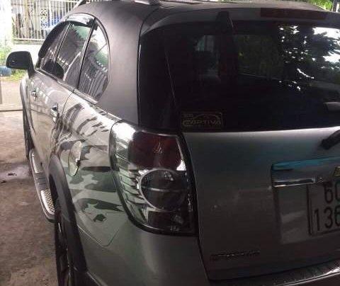 Cần bán lại xe Chevrolet Captiva sản xuất 2007, màu bạc, xe zin nguyên rất đẹp3