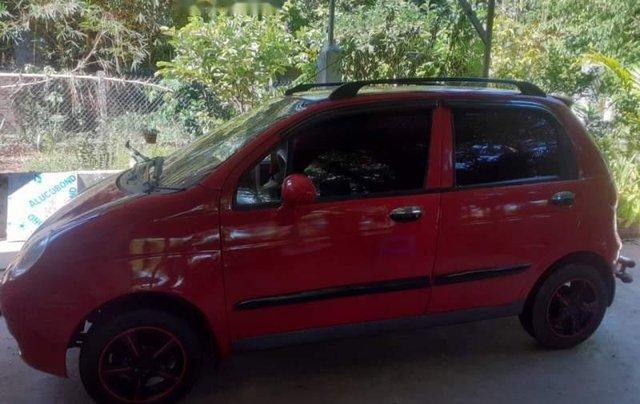 Bán Daewoo Matiz SE sản xuất 2005, màu đỏ, xe như mới, máy êm ru cực khoẻ