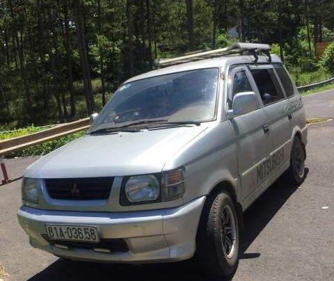 Cần bán Mitsubishi Jolie đời 2001, màu bạc, xe đẹp, máy êm0