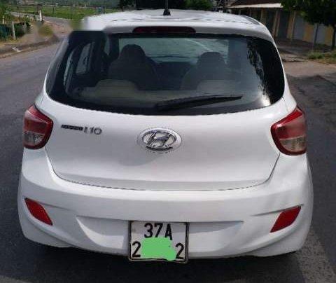 Cần bán gấp Hyundai Grand i10 1.0 MT năm sản xuất 2015, màu trắng, xe đẹp2