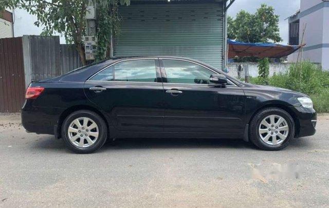 Cần bán gấp Toyota Camry 2.4G sản xuất năm 2007 màu đen, xe gia đình, giá tốt3
