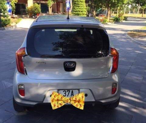 Cần bán xe Kia Morning sản xuất năm 2013, màu bạc số sàn, 210tr2