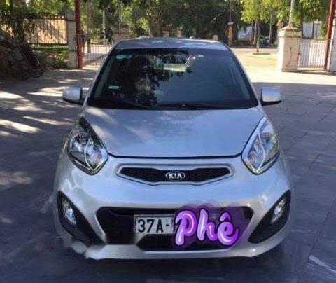 Cần bán xe Kia Morning sản xuất năm 2013, màu bạc số sàn, 210tr0