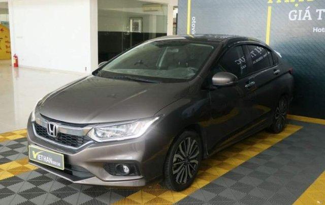 Bán xe Honda City TOP 1.5AT đời 2017, màu nâu, giá chỉ 566 triệu0