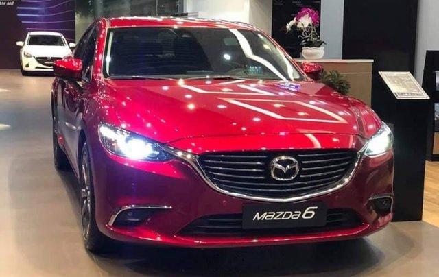 Bán ô tô Mazda 6 năm sản xuất 2019, màu đỏ, ưu đãi tiền mặt lên đến 30tr1