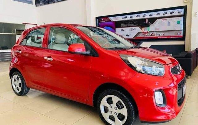 Cần bán xe Kia Morning 2019, màu đỏ, xe có sẵn giao ngay, hỗ trợ giao xe tận nhà1