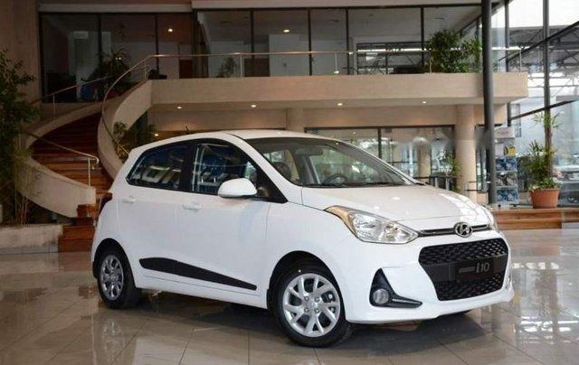 Bán ô tô Hyundai Grand i10 1.2 MT năm sản xuất 2018, màu trắng0