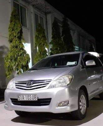 Bán Toyota Innova MT đời 2011, màu bạc, không ngập nước0