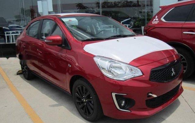 Cần bán Mitsubishi Attrage CVT Eco năm 2019, màu đỏ, nhập khẩu nguyên chiếc từ Thái Lan1