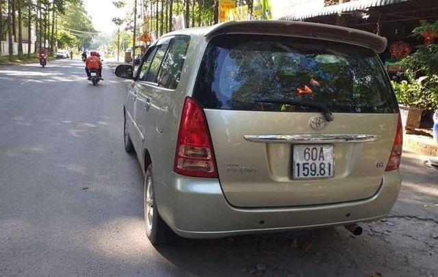 Bán ô tô Toyota Innova MT đời 2007, nhập khẩu nguyên chiếc, máy móc nội thất như mới0