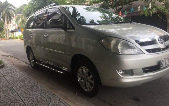 Cần bán lại xe Toyota Innova MT năm 2008, xe gia đình sử dụng còn rất mới ít đi5