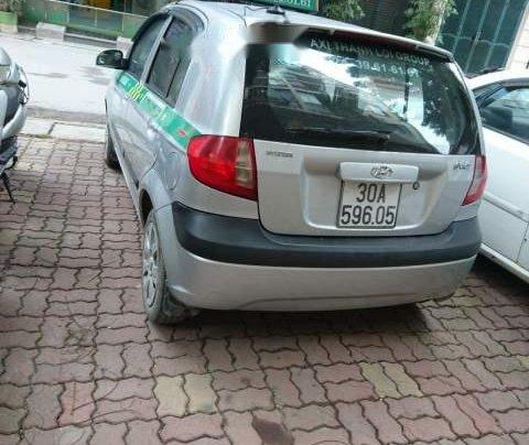 Bán Hyundai Getz 1.1 đời 2009, màu bạc, xe một lái đẹp xuất sắc3