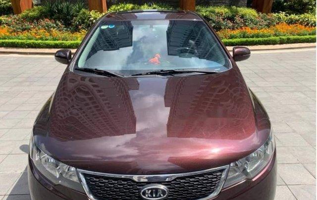 Cần bán xe Kia Cerato 1.6 AT đời 2012, màu đỏ, nhập khẩu Hàn Quốc5