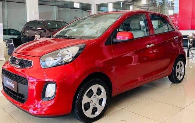 Cần bán xe Kia Morning 2019, màu đỏ, xe có sẵn giao ngay, hỗ trợ giao xe tận nhà2