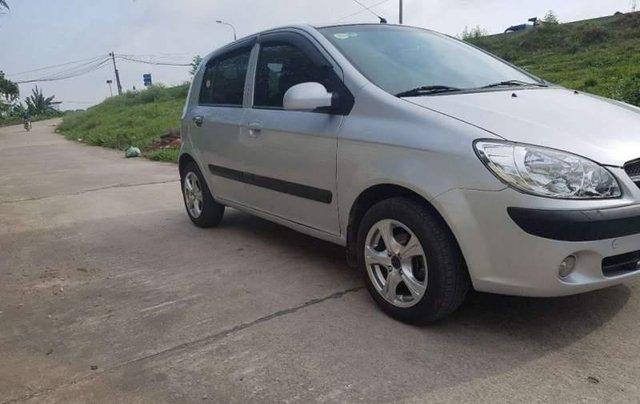 Bán Hyundai Getz MT sản xuất 2010, màu bạc, Đk 2011 3