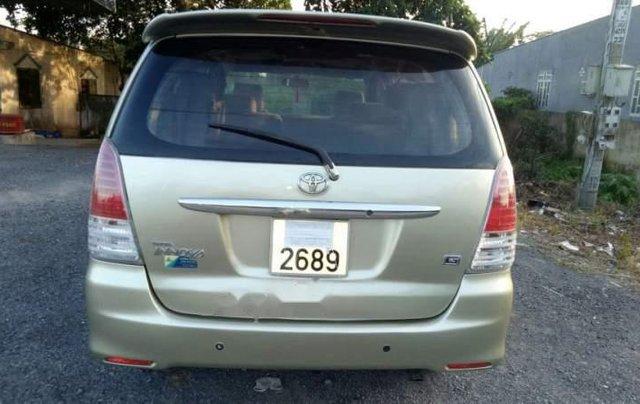 Gia đình bán gấp xe Innova G cuối 2009, xe chính chủ còn rất đẹp2