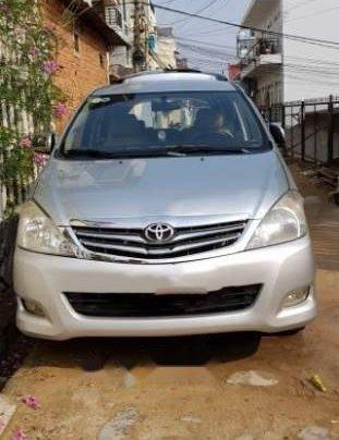 Bán xe Toyota Innova sản xuất 2010, màu bạc, xe gia đình, không cấn đụng ngập nước0
