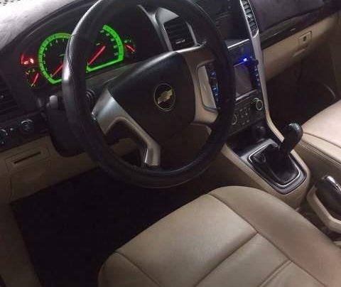 Cần bán lại xe Chevrolet Captiva sản xuất 2007, màu bạc, xe zin nguyên rất đẹp2