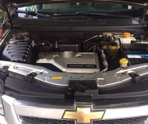 Cần bán lại xe Chevrolet Captiva sản xuất 2007, màu bạc, xe zin nguyên rất đẹp1