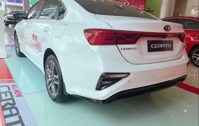 Bán Kia Cerato Deluxe 1.6AT màu trắng 20191