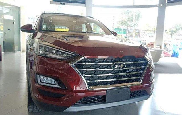 Bán ô tô Hyundai Tucson năm sản xuất 2019, màu đỏ, thủ tục ngân hàng nhanh gọn lẹ giao xe tận nhà0