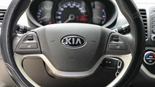 Gia đình bán xe Kia Morning Si 1.25 AT năm 2015, màu trắng12