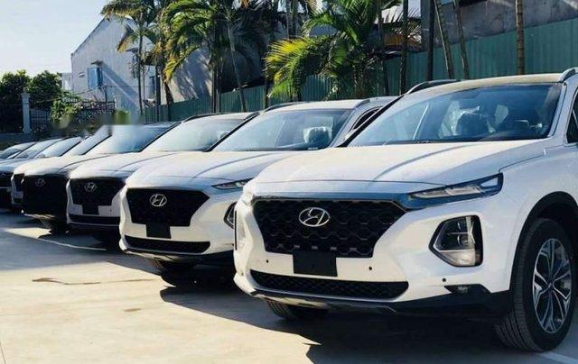 Cần bán xe Hyundai Santa Fe đời 2019, màu trắng, mới 100%1