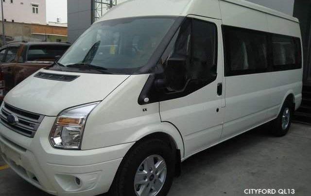 Bán Ford Transit Luxury date 2019 màu trắng, bạc, hồng phấn giao ngay0