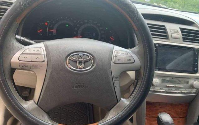 Cần bán gấp Toyota Camry 2.4G sản xuất năm 2007 màu đen, xe gia đình, giá tốt4