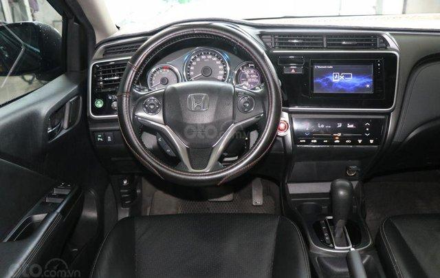 Bán xe Honda City Top 1.5AT đời 2017, màu nâu8