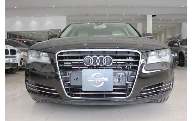 Cần bán lại xe Audi A8 2011, màu đen, nhập khẩu0
