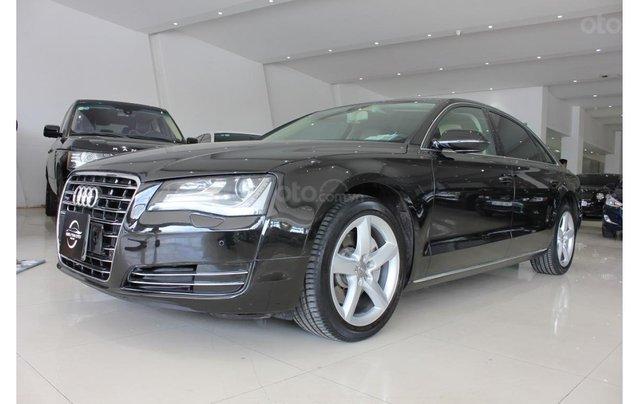 Cần bán lại xe Audi A8 2011, màu đen, nhập khẩu2