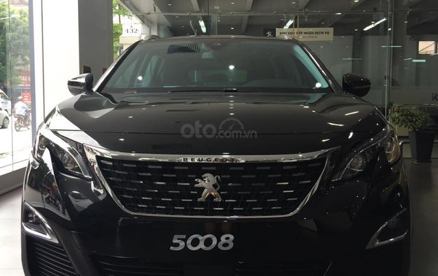 Bán xe Peugeot 5008 đời 2019, màu đen1