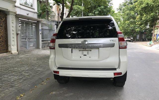 Xe chính chủ bán Toyota Prado TXL 2.7L đời 2017, màu trắng, xe nhập, siêu mới, giá tốt2