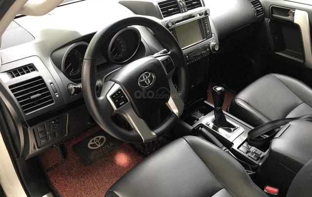 Xe chính chủ bán Toyota Prado TXL 2.7L đời 2017, màu trắng, xe nhập, siêu mới, giá tốt10