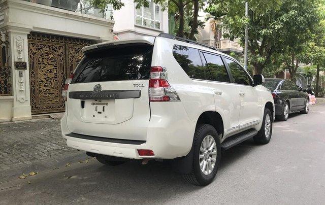 Xe chính chủ bán Toyota Prado TXL 2.7L đời 2017, màu trắng, xe nhập, siêu mới, giá tốt7