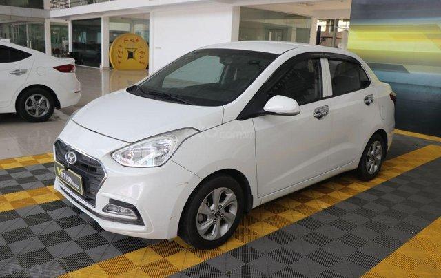 Bán Hyundai Grand i10 1.2AT 2018, màu trắng1