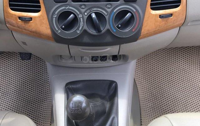 Cần bán Toyota Innova G năm 2011, màu bạc. Xe thuộc loại xuất sắc18