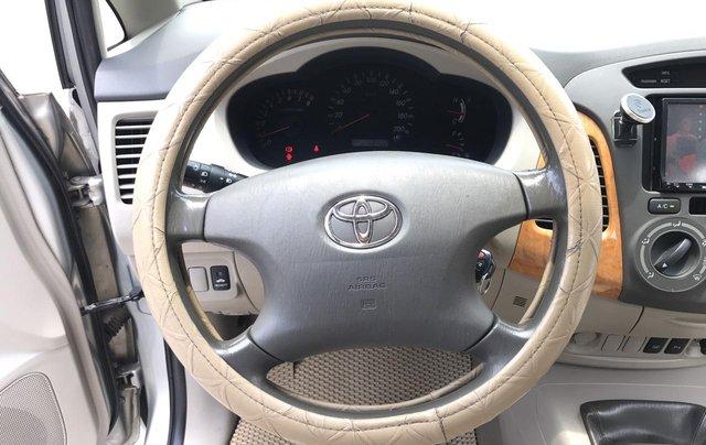 Cần bán Toyota Innova G năm 2011, màu bạc. Xe thuộc loại xuất sắc5