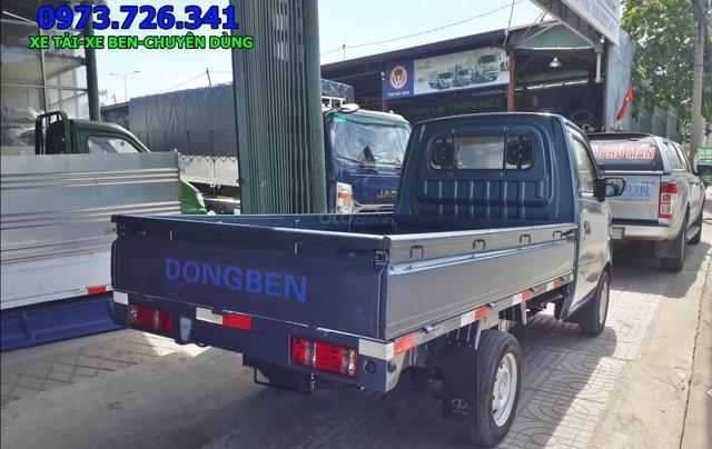 Xe tải nhẹ Dongben 870kg thùng dài 2m4 đời 20192