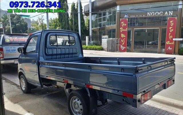 Xe tải nhẹ Dongben 870kg thùng dài 2m4 đời 20193