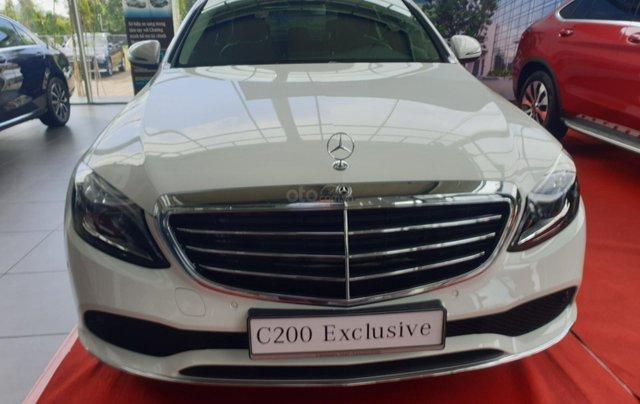 Bán Mercedes C200 Exclusive mới 2019, hỗ trợ ngân hàng 80%, nhiều ưu đãi0