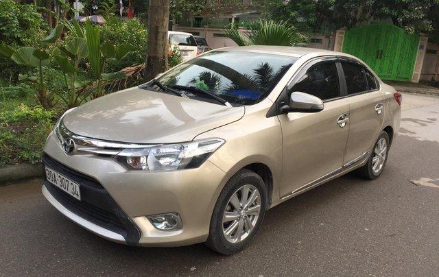 Chính chủ tôi cần bán chiếc Toyota Vios E 2014, số sàn màu cát vàng, ai có nhu cầu LH 09897933151